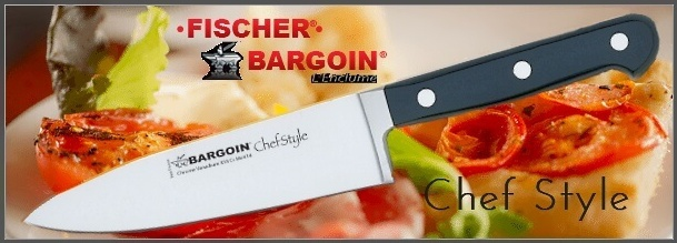 Forged kitchen knives Bargoin Chef Style