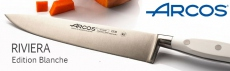 Arcos Riviera white handle kitchen knives