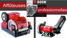 Dick grinding and honing machines, sharpeners