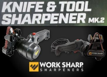 Work Sharp Knife and Tools WS1 electrical sharpener and accessories