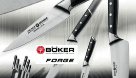Böker Forge kitchen knives