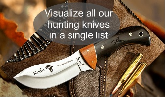 HUNTING KNIVES, FIXED BLADES, BOWIES