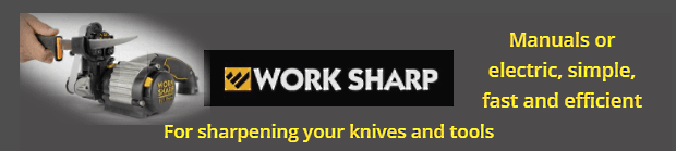 WORKS SHARP, knife and tools sharpeners - Made in USA
