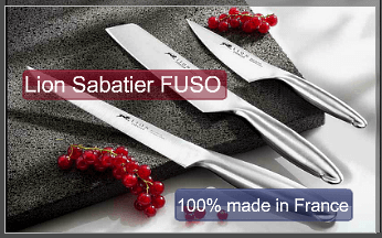 Kitchen knives Lion Sabatier Fuso