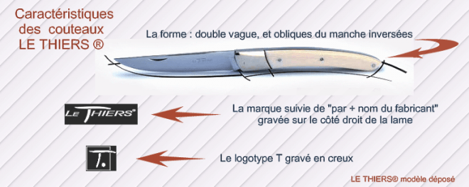 Le Thiers knives