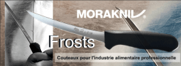 Mora Frosts Unigrip butchers knives