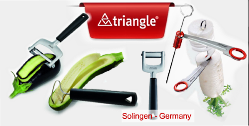 Triangle kitchen tools