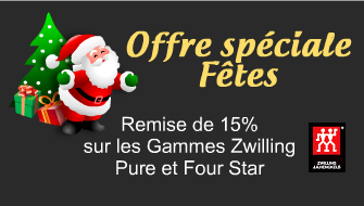 Promotions spéciales Zwilling