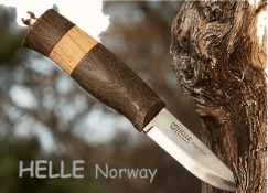 HELLE, Norwegische Outdoor Messer