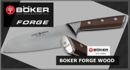 Böker Forge Wood kitchen knives