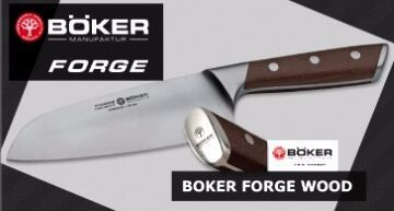 Kitchen knives Böker Forge Wood