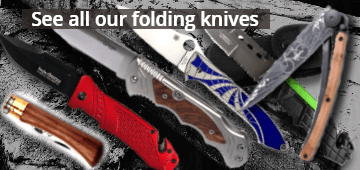 All our pocket and folding knives