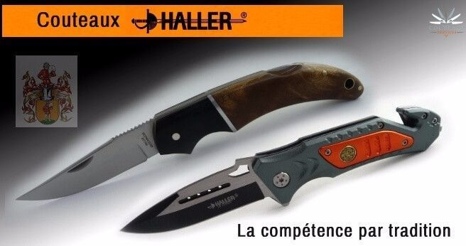 Haller pocket and folding knives