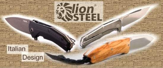 Lionsteel folding knives