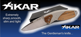 XICAR, ultra light gentleman's knife