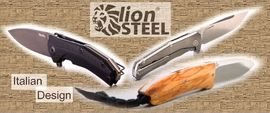 LION STEEL, folding knives