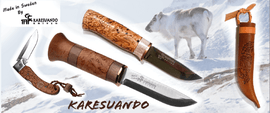 KARESUANDO, swedish fixed blades knives