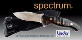 LINDER SPECTRUM, couteaux outdoor, bowies