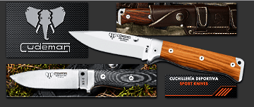 CUDEMAN, spannish hunting knives, outdoor, bowies