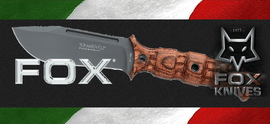 FOX, italian fixed blades knives