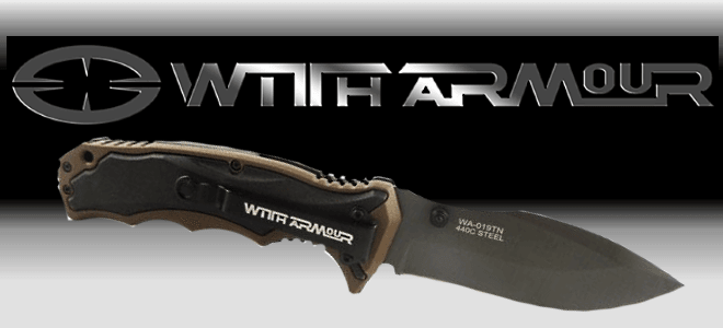 With Armour, Taktische Outdoor-Messer