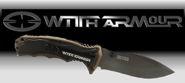 WITHARMOUR, tactical, folding knives
