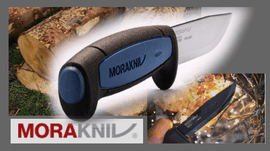 MORA, outdoor knives - made in Sweden
