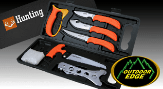 OUTDOOR EDGE, outdoor and hunting knives and tools