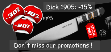 Dick 1905 series,  Kitchen knives - 15%