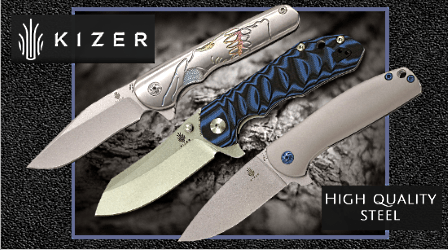 Kizer folding knives