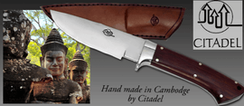CITADEL outdoor knives handmade in Cambodia
