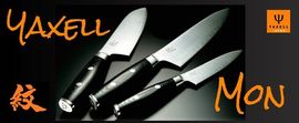 Japanese kitchen knives Yaxell Mon