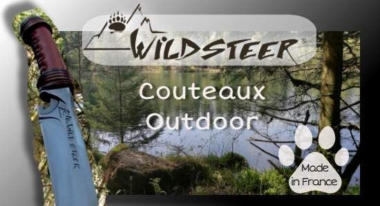 Wildsteer french Outdoor and survival knives