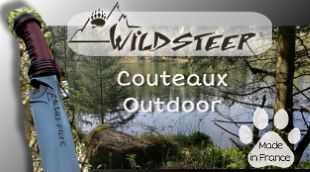 Wildsteer french outdoor, hunting and survival kives
