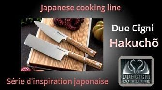 Kitchen knives Due Cigni Hakucho
