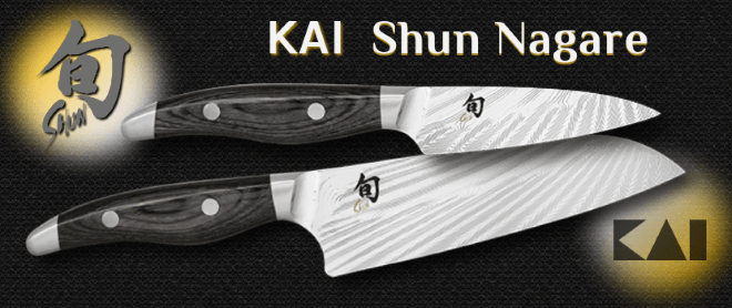 Japanese kitchen knives Kai Shun Nagare