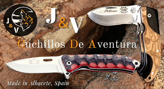 Folding knives J&V CDA, Cuchillos de Adventura