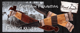 WOOD JEWEL, Finnish outdoor knives