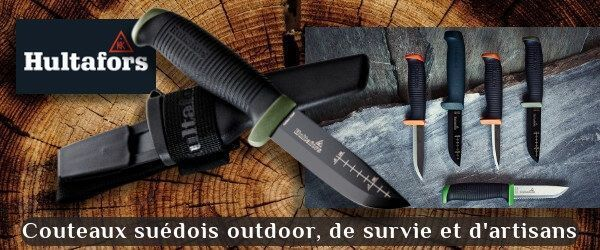 Hultafors, swedish craftmens and outdoor knives