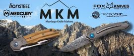 MKM MANIAGO KNIFE MAKERS, couteaux pliants italiens