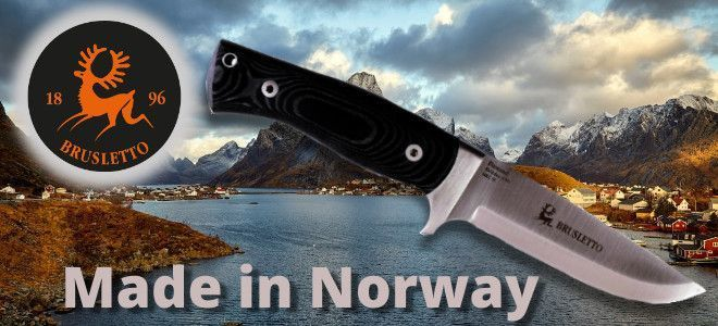 Brusletto Norwegian outdoor knives