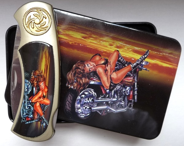 Pocket knife Ladies Biker 3