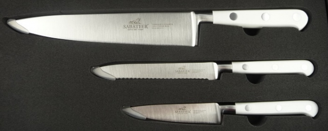 Knife Set Sabatier Lion Toque blanche