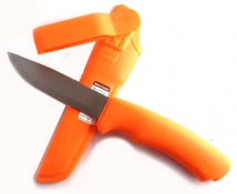 Mora Messer Bushcraft orange