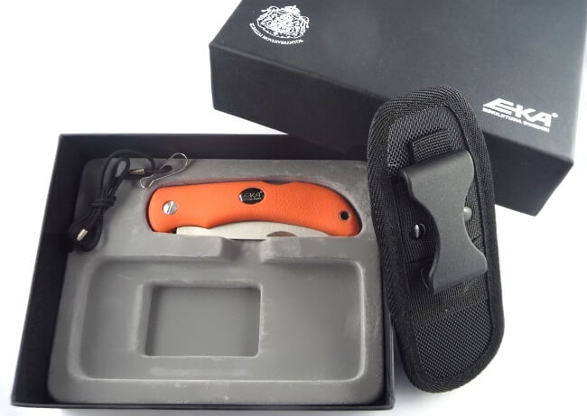 Folding knife EKA Swede 10 orange