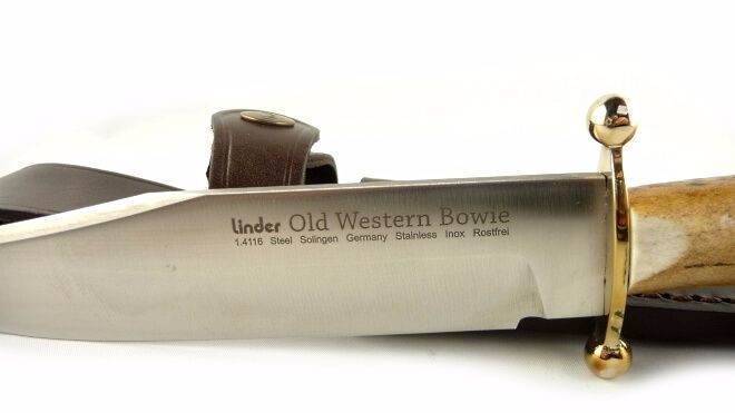 Couteau Linder Old Western Bowie 18 cm