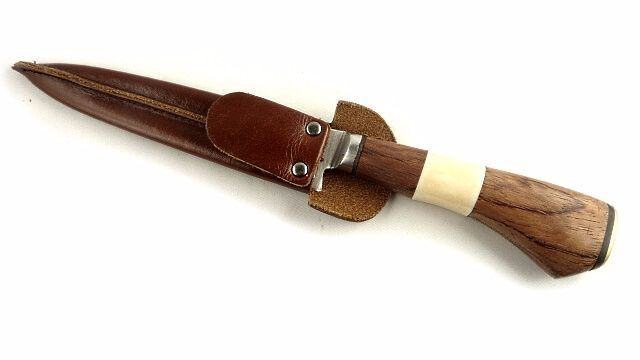 Gaucho knife Linder with rosewood and real bones handle