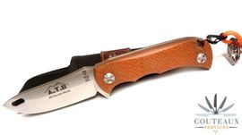 Muela ATB orange outdoor knife