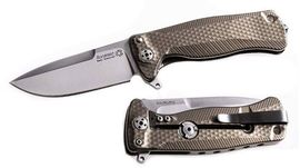 Lionsteel folding knife Titanium Bronze SR22.B