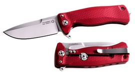 Lionsteel folding knife Aluminium red SR22A.RS